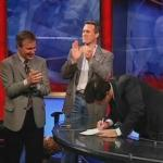 the colbert report.11.02.09.Dan Jansen, Nicholas Thompson_20091130175018.jpg